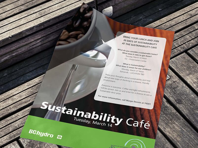 BC Hydro sustainability poster