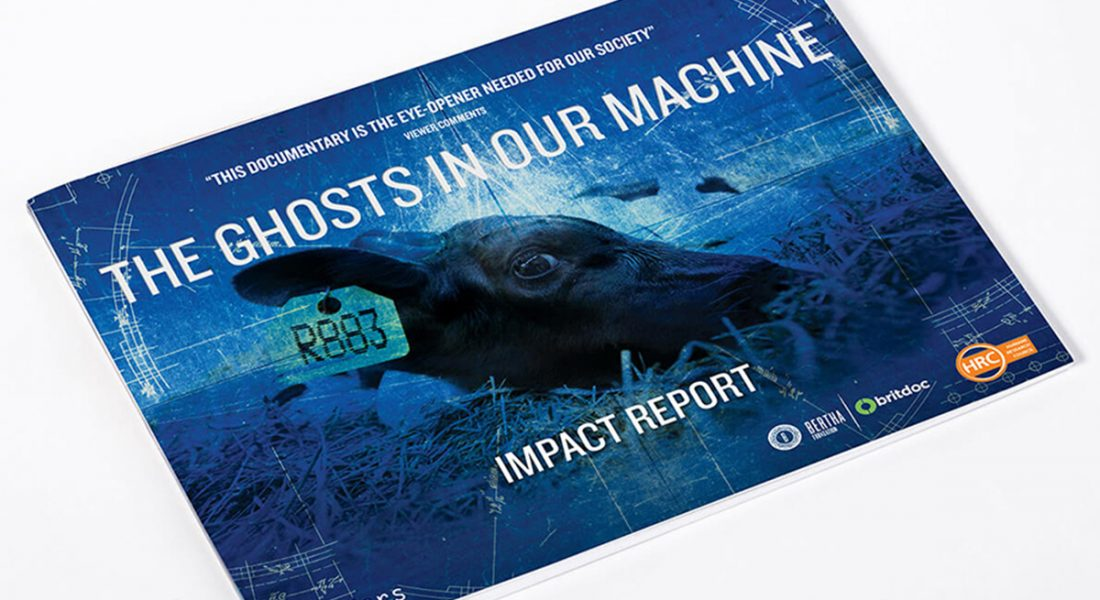 The Ghosts in Our Machine Front Cover