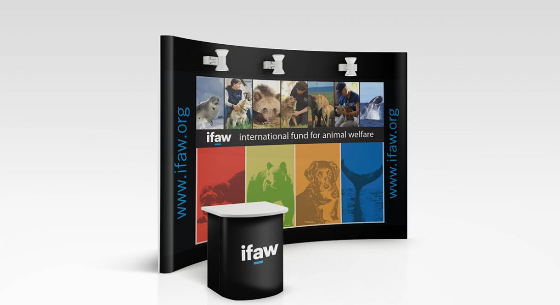 IFAW Generic Booth Graphic