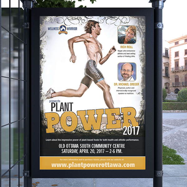 Plant Power Transit Poster
