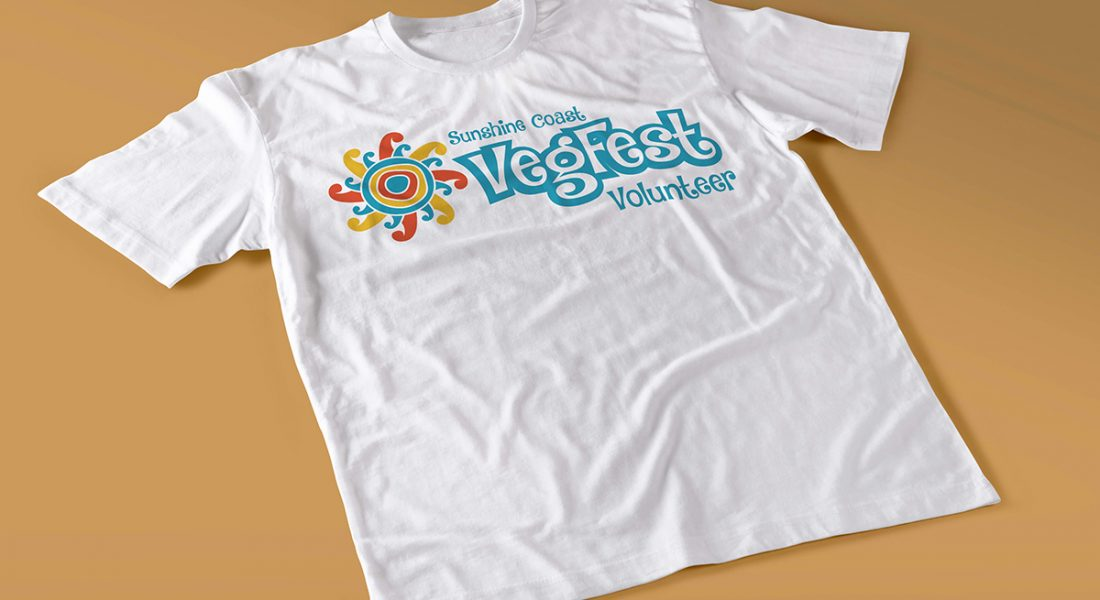 Sunshine Coast Vegfest t-shirt