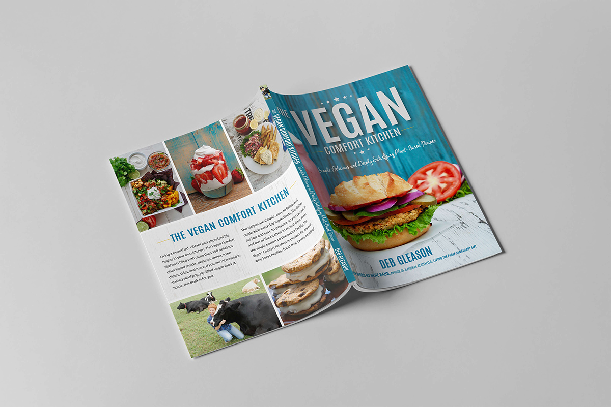 Vegan Comfort Kitchen cover spread